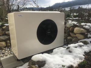Luft-Wasser Wärmepumpe von Striega-Therm