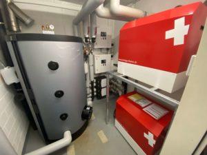 Wärmepumpen Innengerät von Striega-Therm (Doppelanlage)